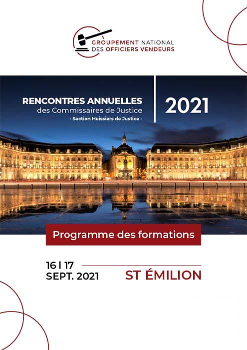programme septembre 2021